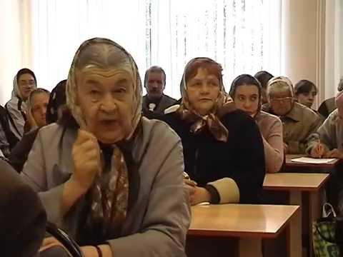 Кузнецк, сентябрь 2006, Слушания по часовне в больнице