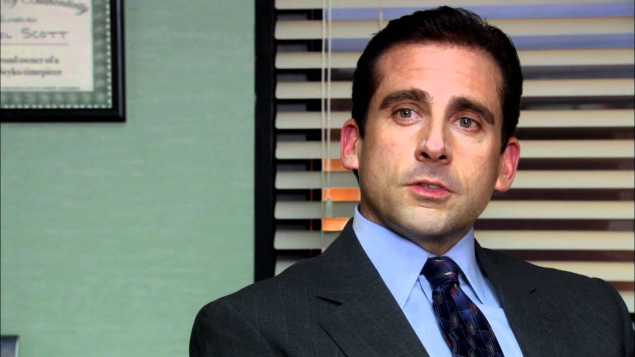 Michael Scott Afraid of how much they love me