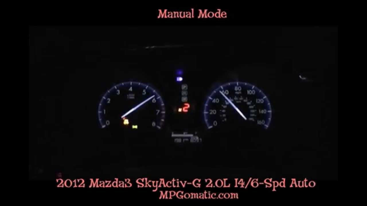 2012 mazda3 skyactiv 0 60 mph manual mode youtube. Black Bedroom Furniture Sets. Home Design Ideas