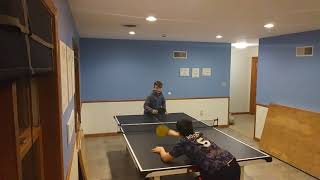 Ping pong battle to #1 part 1