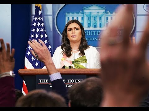 Sanders: Who Cares If It's Not A Real Video Trump Tweeted!
