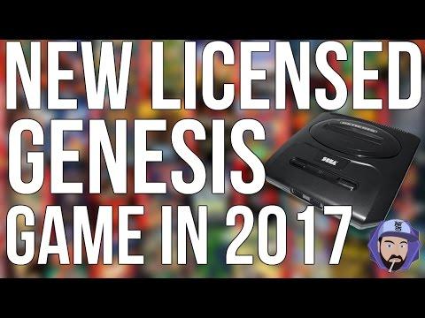 New LICENSED Sega Genesis Games from SEGA in 2017!?   RGT 85