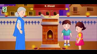 DIWALI VIDEO !!! ANIMATED VIDEO FOR CHILDREN !!! FESTIVAL OF LIGHTS