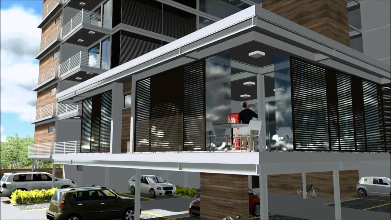 Excepcional Edifício Residencial - Arquitetura e Urbanismo - P6 - YouTube LE27