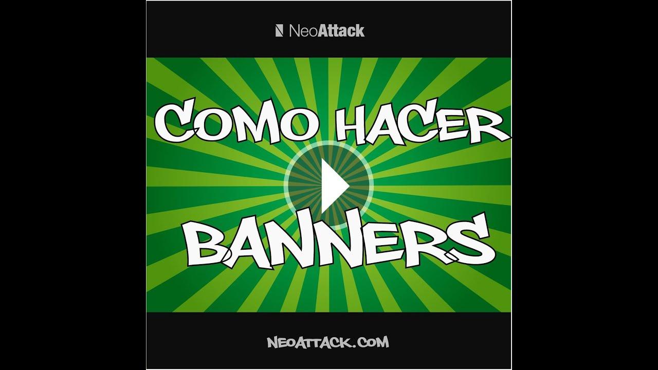 Como hacer BANNERS en illustrator FÁCIL, RÁPIDO Y 100 % GRATIS - YouTube