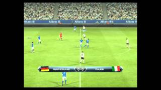 Pes 2013 Gameplay [HD] Germany - Italy
