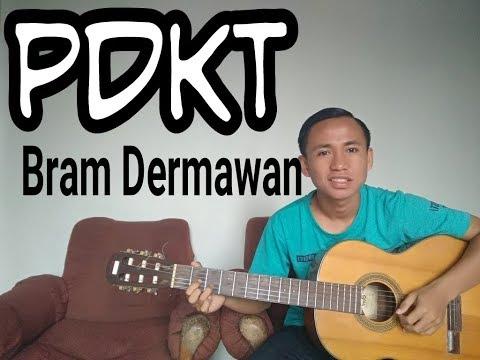 Cara main cover gitar lagu Bram Dermawan - PDKT