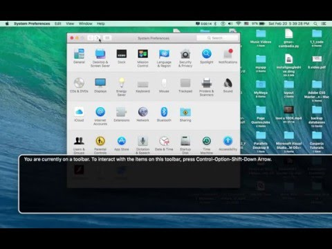 How To Disable VoiceOver On Mac