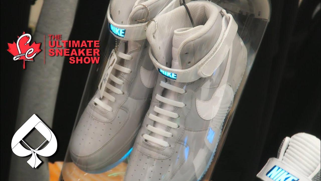 7ab08276ce673 VLOG 170 NIKE AIR MAG AIR FORCE 1 CUSTOM AND MORE! Crazy SneakerCon Recap