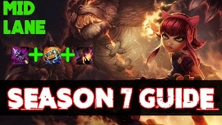 Complete ANNIE GUIDE - Annie Mid Guide - League of Legends Annie Tutorial [Season 7]