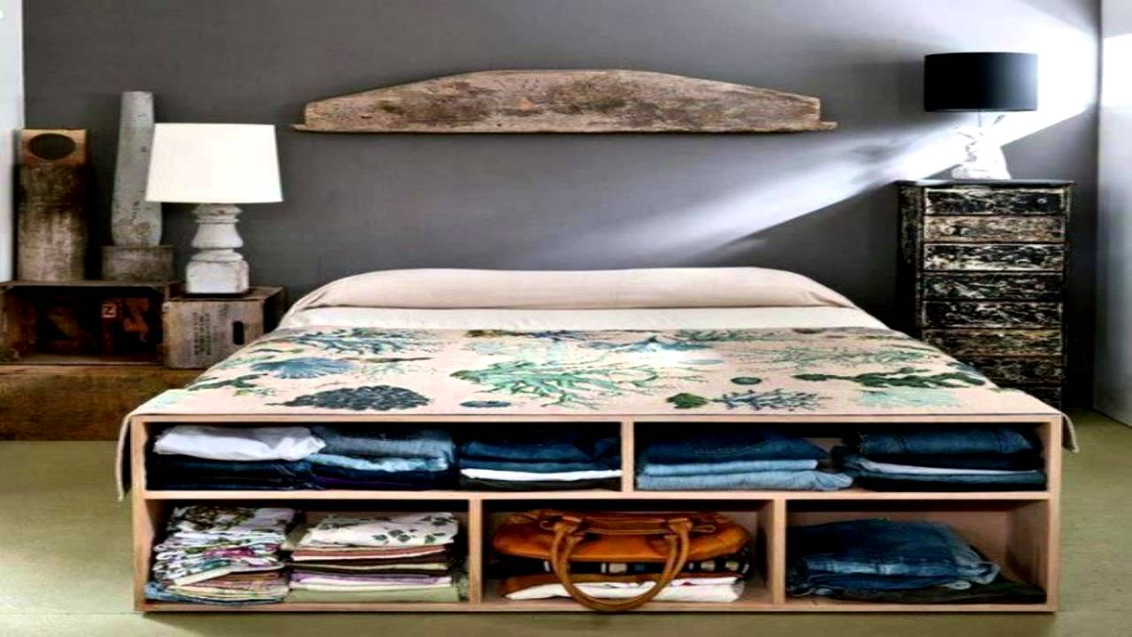 44 smart bedroom storage ideas youtube