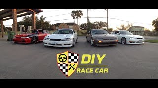 Debut Of The Diy Race Car S14/240sx