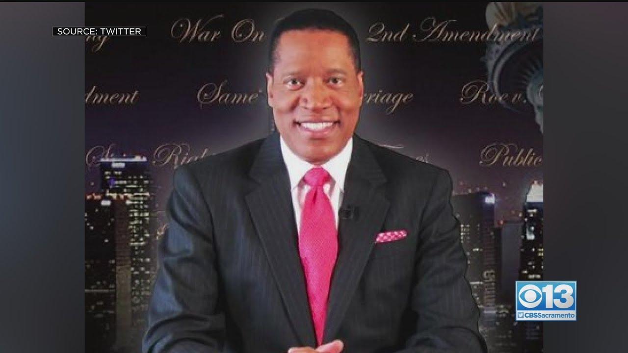 Radio host Larry Elder enters California recall election