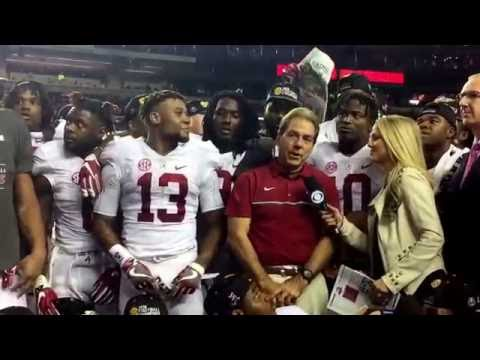 Watch Alabama celebrate a 3-PEAT in the SEC Championship Game