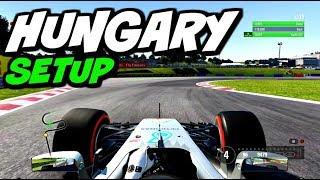 F1 2017 HUNGARY HOTLAP + SETUP (1:16.560)