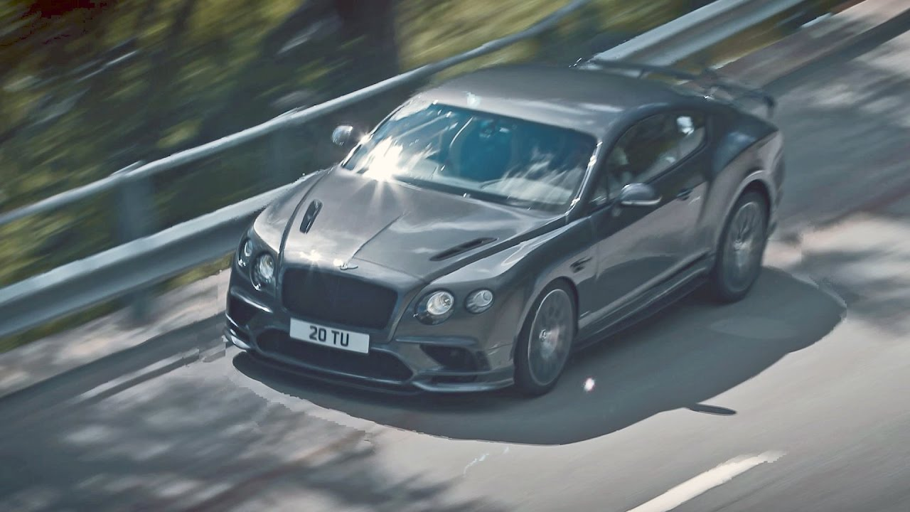 700 Hp Bentley Continental Supersports 2017 Youtube