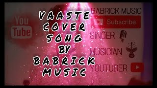 Vaaste Song : Dhvani Bhanushali | Only Vocals Cover | Music Lovers | Bollywood Music
