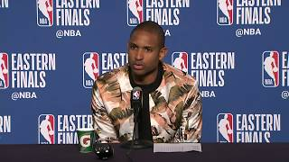 Al Horford Postgame Interview | Celtics vs Cavaliers Game 3