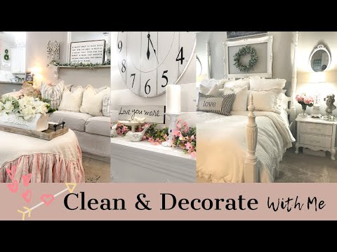 NEW! CLEANING MOTIVATION | CLEAN & DECORATE WITH ME | ELEGANT FARMHOUSE DECOR