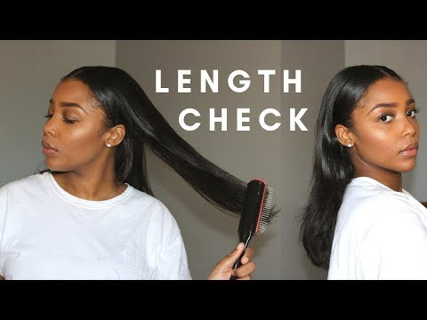 Long Natural Hair Length Check | 2019