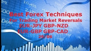 Forex Trading - Techniques to Time Trend Changes GBP/NZD EUR/JPY EUR/GBP 29/06