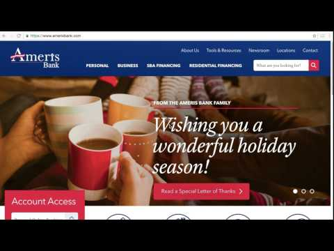 Ameris Bank Online Banking Login / Sign In - Coffee Hype
