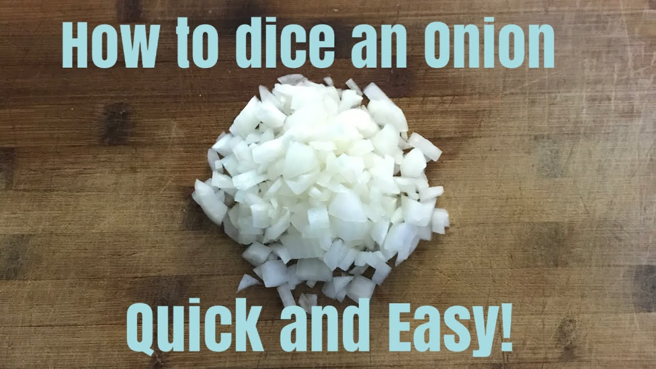 How to dice an Onion perfectly | Quick and Easy!