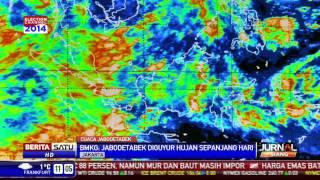 BMKG: Cuaca Jabodetabek Diperkirakan Hujan Sepanjang Hari Ini