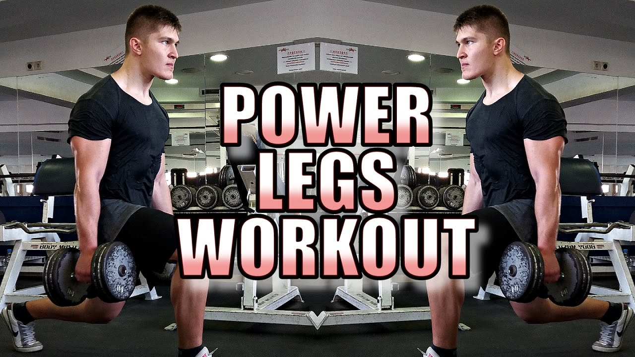 Power Leg Workout - How to Build Explosive Athletic Legs