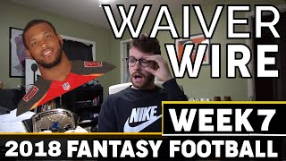 Week 7 - Top Waiver Wire Pickups | 2018 Fantasy Football