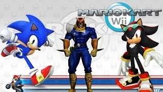 Mario Kart Wii Character Mods