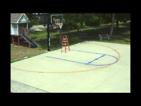 outdoor basketball court template - naturescape backyard versacourt basketball court kingst