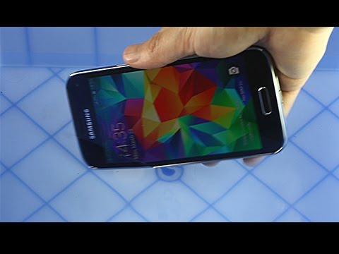 Galaxy S5 Mini Vs Xperia Z2 Water Test
