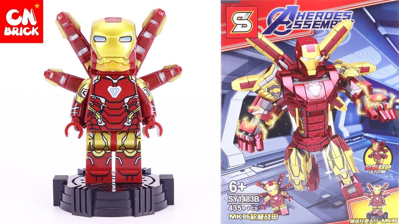 LEGO IRON MAN MK85 MECH ROBOT SY1483B Unofficial lego