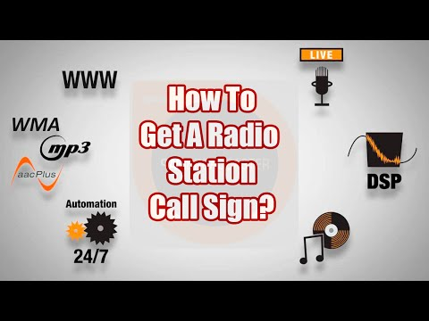 SAM Broadcaster-How To Get Your Own Station ID and Call Sign - A SAM Broadcaster Tutorial