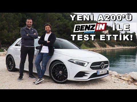 Yeni Mercedes A Serisi Test Sürüşü - Benzin TV Burak Ertem Ile Test Ettik!