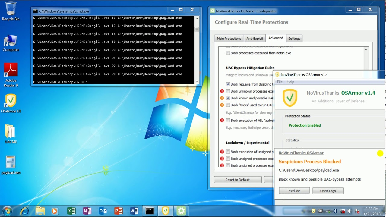 Uacme Compiled Download