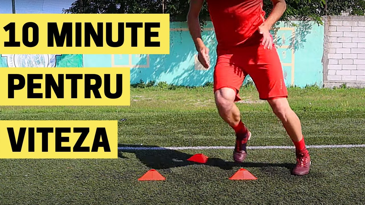 10 MINUTE DE ANTRENAMENT VITEZA DE REACTIE | IMPROVED FOOTBALL