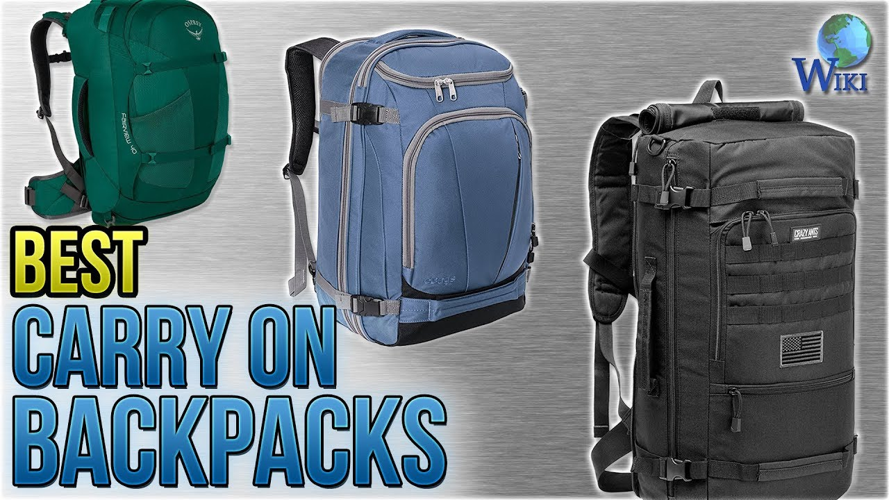 e0304a239a 10 Best Carry On Backpacks 2018 - YouTube