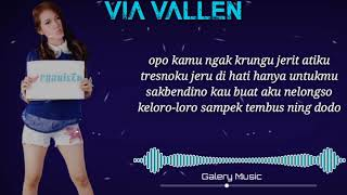 Jerit Atiku - Via Vallen ( Unofficial Lyrics Video ) Mp3