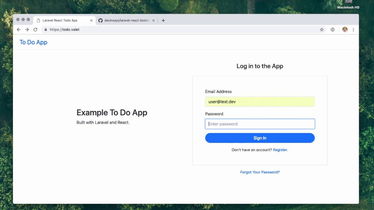 Building a React App on Laravel | WP Theming