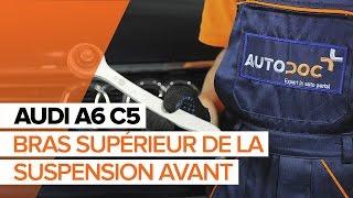 Comment remplacer le bras supérieur de la suspension avant sur une AUDI A6 C5 [TUTORIEL]