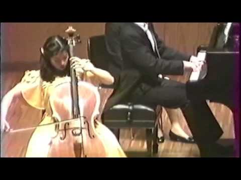 FAURE Elégie - Yoko Hasegawa (cello) and Jeffrey Grice (piano)