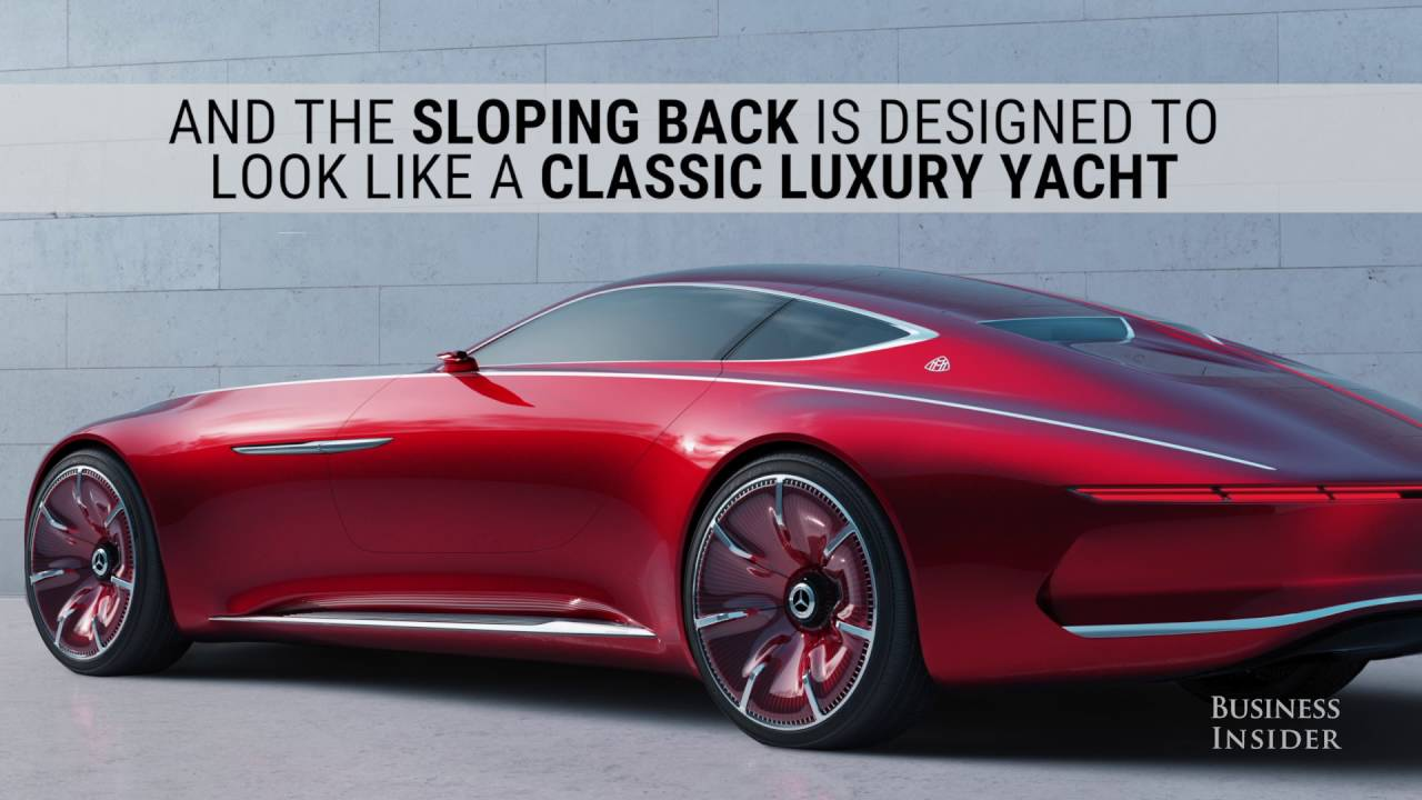 mercedes-maybach rivals tesla with a new jaw-dropping concept - youtube