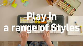 Yamaha PSS-F30 overview : Everything your child needs to start playing.