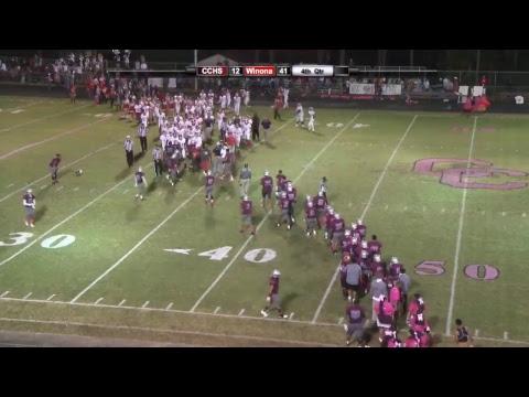 Choctaw Central High School Football: CCHS vs Winona High School Tigers