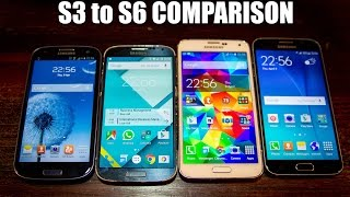 Hilarious Software Comparison of the Galaxy S line - S3 to S6