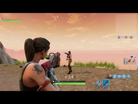 Fornite Auto Aim Demonstration