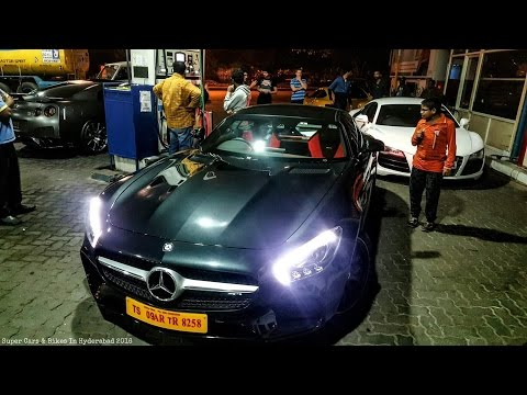4 Supercars Meetup In Hyderabad | India 2016