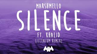 Video Marshmello ft. Khalid - Silence (Illenium Remix) download MP3, 3GP, MP4, WEBM, AVI, FLV Januari 2018